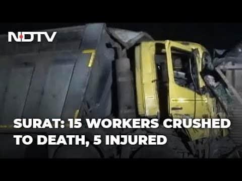 В Индии грузовик переехал 15 человек (ВИДЕО)