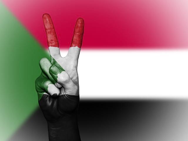 Судан флаг