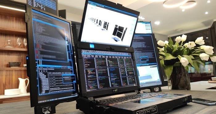 ноутбук 7 экранов фото