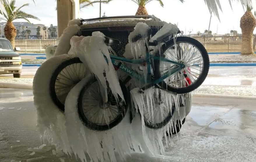Морозы в США фото