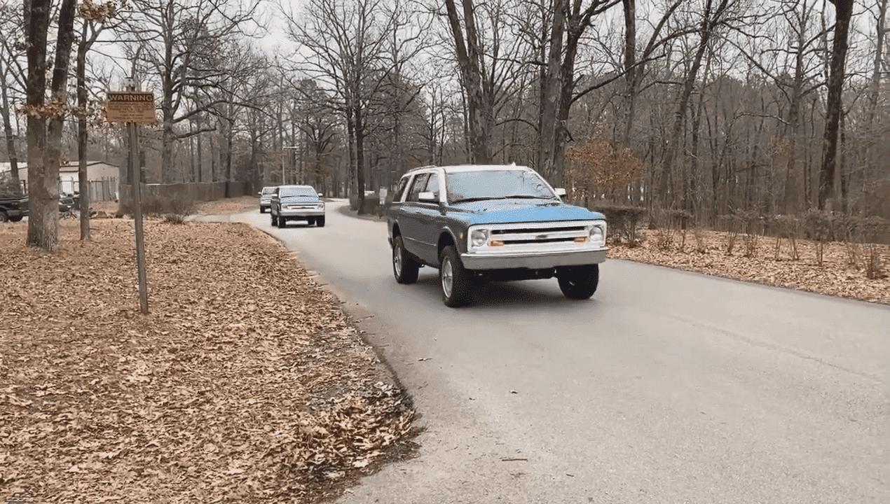 Chevrolet Blazer K5 фото