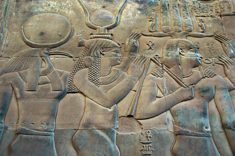 Храм Древнего Египта фараон фото