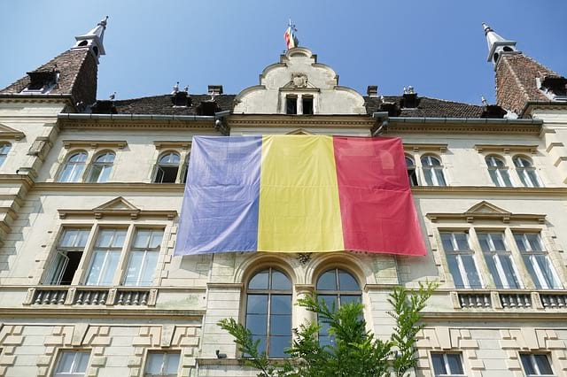 Флаг Румынии фото