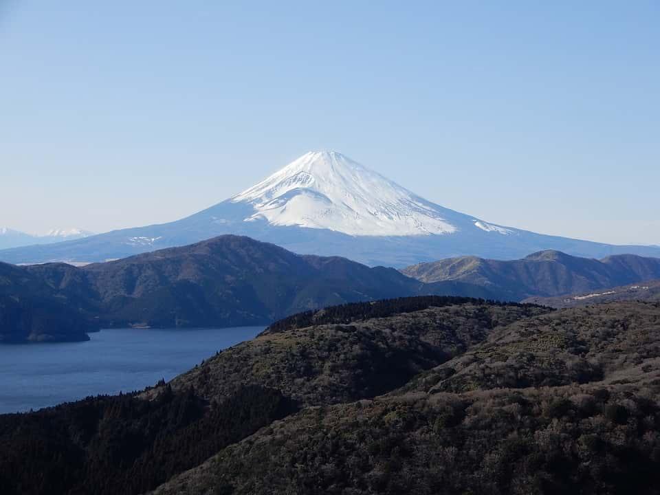 Гора Фудзияма Япония фото
