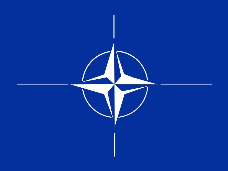 Флаг НАТО изображение