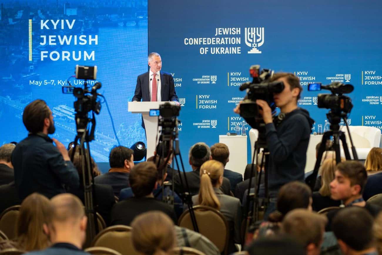Борис Ложкин Киевский еврейский форум фото