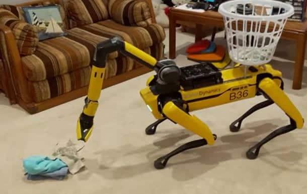 Робот Boston Dynamics фото