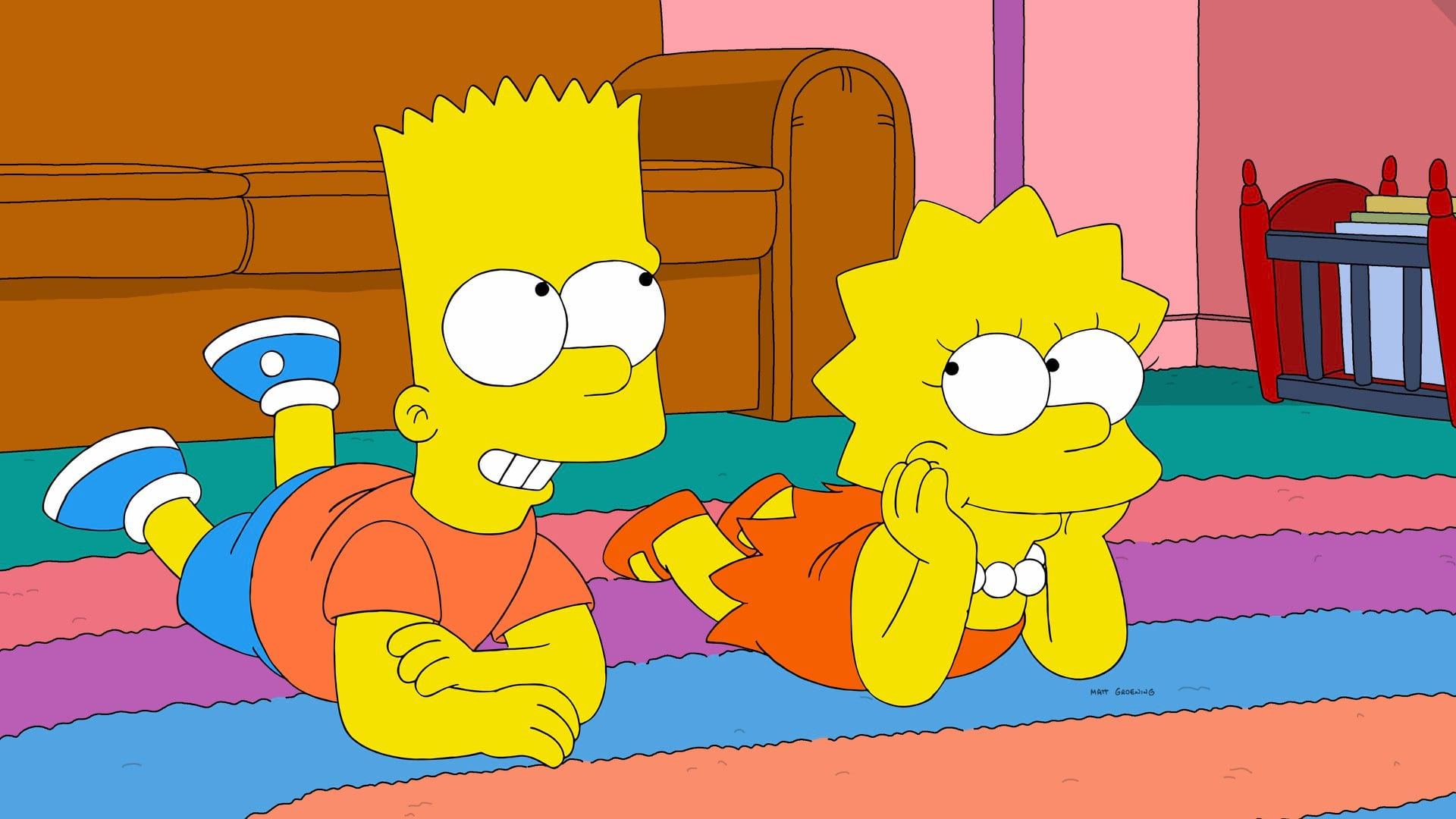 Симпсоны барт лиза фото