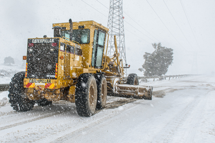 Снег снегопад Израиль фото