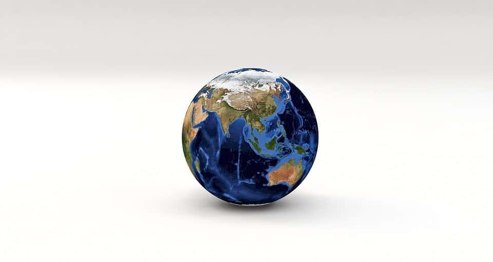 Страны Азии глобус изображение