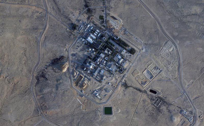 Строительство в районе АЭС в Димоне фото