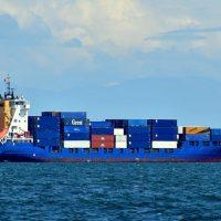 Торговое судно фото
