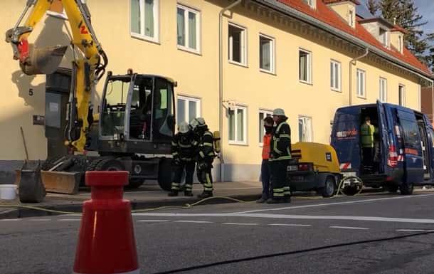 Взрыв в Германии фото