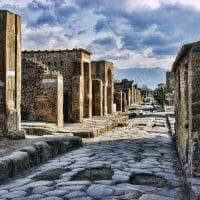 Помпеи руины Италия фото