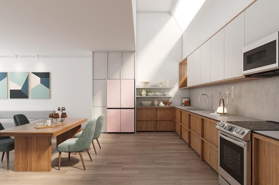 фото новый умный холодильник от Samsung