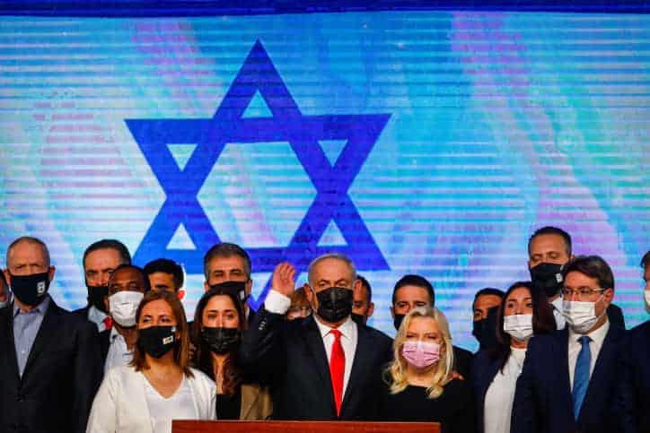 Биньямин Нетаниягу и партия Ликуд фото