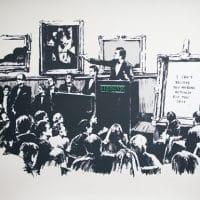 Картина Бэнкси Аукцион фото