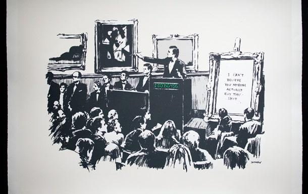 Картину знаменитого художника сожгли и превратили в криптовалюту (ВИДЕО)
