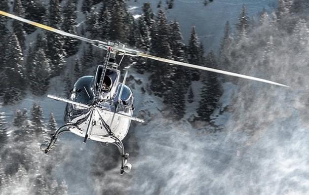 Крушение вертолета на Аляске фото