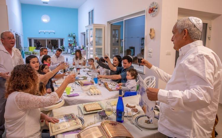 Празднование Песаха в Израиле фото