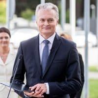 Президент Литвы Гитанас Науседа фото
