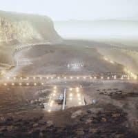Проект города на Марсе фото