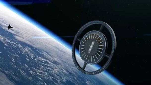 Проект космического отеля Вояджер изображение