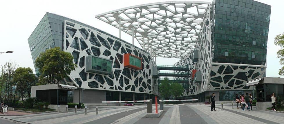 Штаб-квартира Alibaba фото