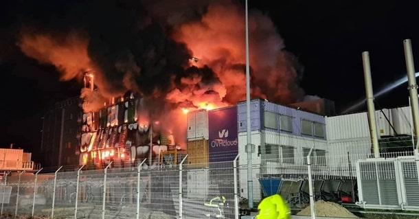 В Страсбурге сгорел дата-центр фото