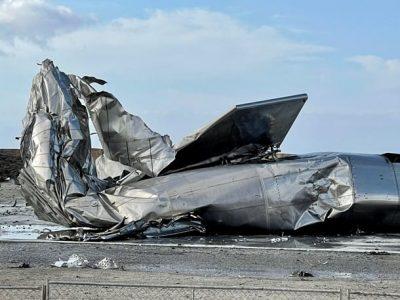 Взрыв космического корабля Starship фото