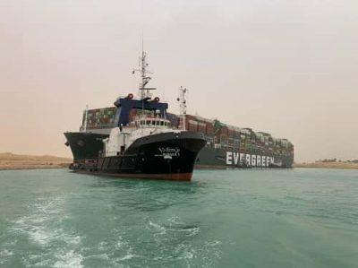Египет арестовал судно Ever Given из-за отказа владельца выплатить компенсацию