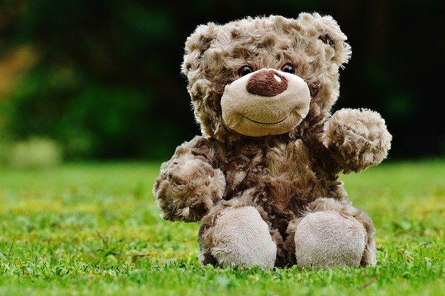 Плюшевый медведь картинка
