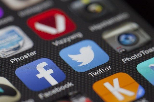 Twitter социальная сеть приложение фото