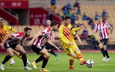 Барселона с разгромным счетом победила Атлетик в финале Кубка Испании (ВИДЕО)