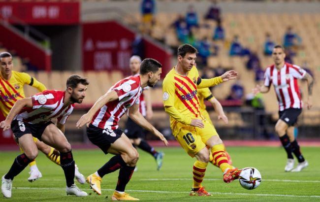 Барселона против Атлетика фото