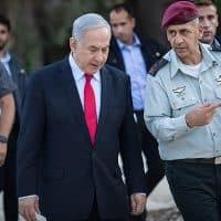 Биньямин Нетаниягу и Авив Кохави фото