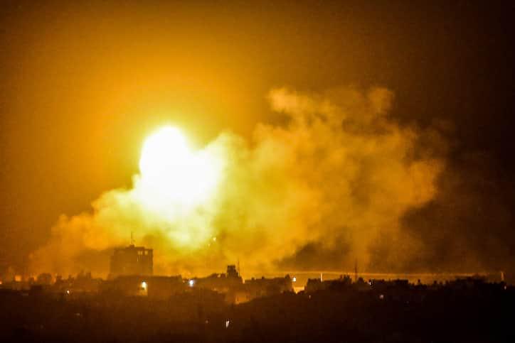 Ракетные обстрелы фото