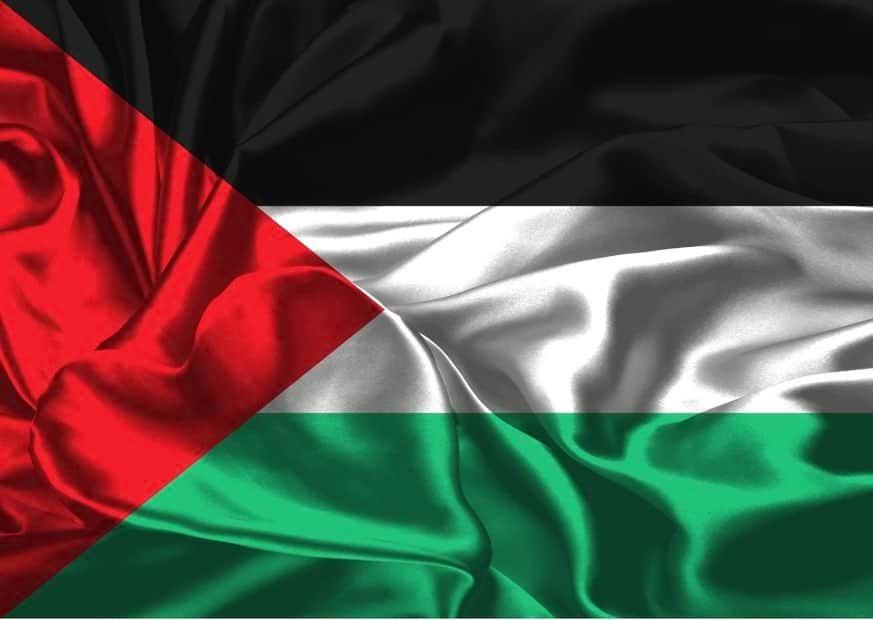 Флаг Палестинской автономии изображение
