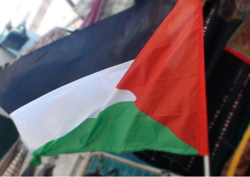 Флаг Палестинской автономии фото