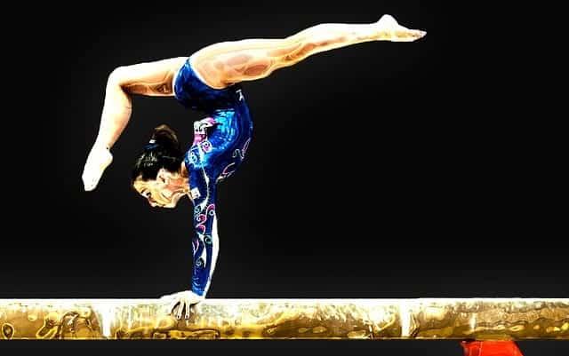 Гимнастика спорт фото