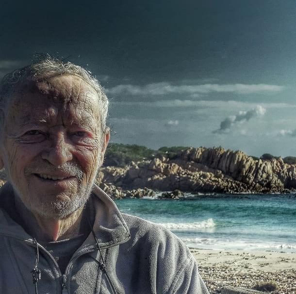 Итальянец Мауро Моранди на острове Буделли фото