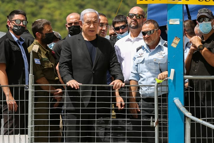 Нетаниягу посетил место трагедии на горе Мерон - Cursorinfo: главные  новости Израиля и мира