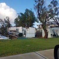 Последствия тропического шторма в Австралии фото