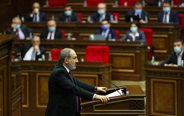 Экс-премьер-министр Армении Никол Пашинян фото