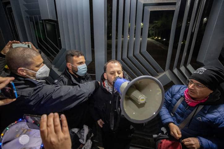 Протесты против Нетаниягу фото