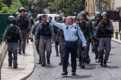 В Иерусалиме вспыхнули столкновения ультраортодоксов с полицией. Фоторепортаж
