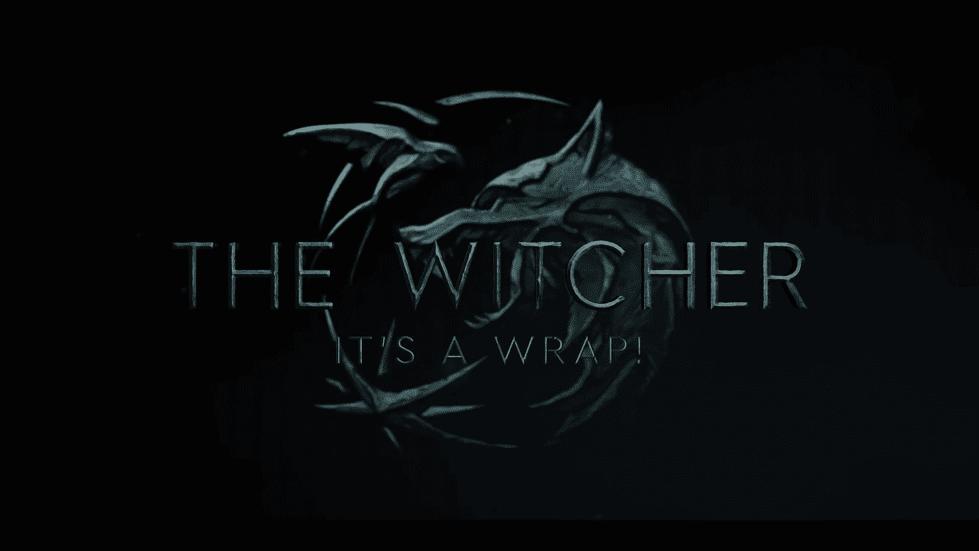 Ведьмак, логотип сериал