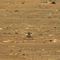 Вертолет Ingenuity на Марсе фото
