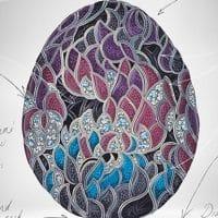 Яйцо Fabergе к юбилею Игры престолов фото