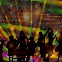 Музыка танцы картинка